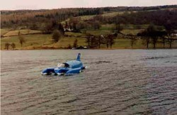Bluebird Replica for BBC film 'Across the Lake' staring Sir Antony Hopkins.