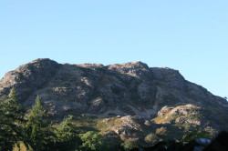 Long Crags above Coniston Village.