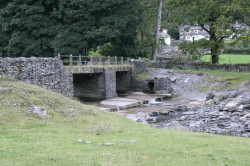The Bridge at Tilberthwaite.