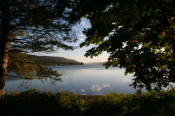 Coniston Water and lakeshore