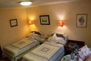 Beatrix Potter Twin Bedroom in Yewdale Crag Self Catering Apartment Coniston