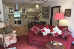 Tarn Hows lounge - one of the self catering apartments in Coniston Lodge
